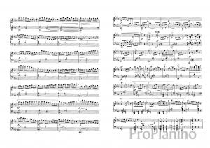 Экспромт №2 опус 90 (ми бемоль-мажор) Р. Шуберта: ноты