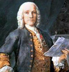 Итальянский композитор Антонио Вивальди
