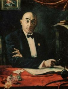 Грузинский композитор З. Палиашвили