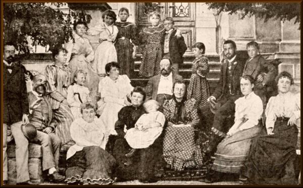 Семья и друзья А. Дворжака