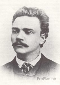 Молодой Антонин Дворжак