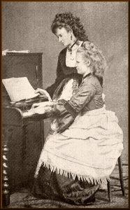 Сестры Жозефина и Анна Чермяковы