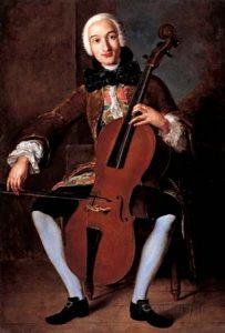 Любимый инструмент Боккерини - виолончель