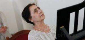 Мария Гамбарян до сих пор преподает фортепиано в Российской Академии Музыки имени Гнесиных