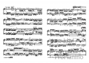 Фуга №15 (Соль мажор) И.С. Бах: ноты
