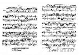 Фуга №16 (Соль-минор) BWV 861 И.С. Бах: ноты