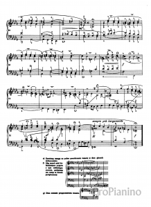 Фуга №22 (Си бемоль минор) ХТК 1И.С. Бах: ноты