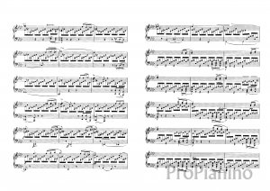 Экспромт №1 опус 142 (фа-минор) Р. Шуберта: ноты
