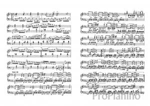 Экспромт №3 опус 142 (си-бемоль мажор) Р. Шуберта: ноты