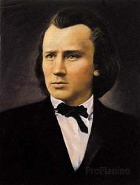 Молодой вундеркинд Иоганес Брамс