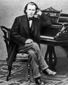 И. Брамс за фортепиано