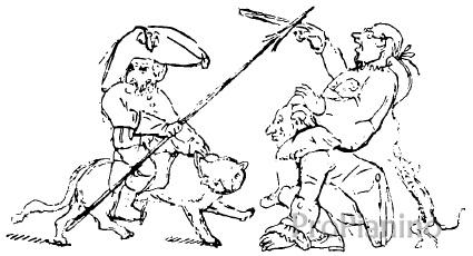 Карикатура Э. Гофмана