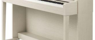 Пианино Yamaha clp 535 вид спереди