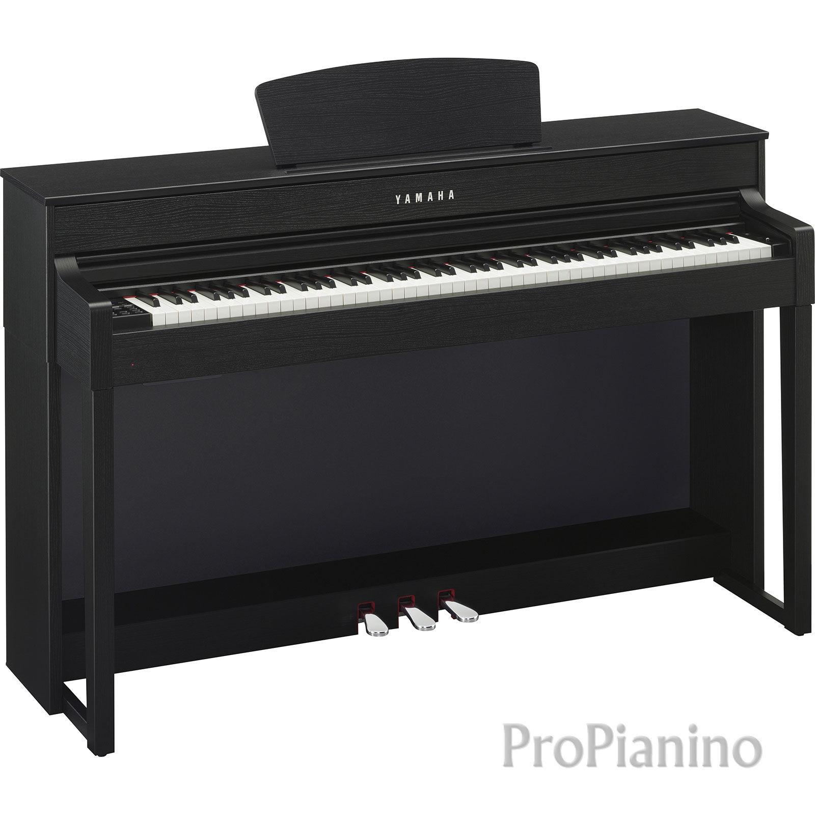 Черный оркестровый инструмент Yamaha clp 535