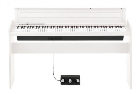Цифровое пианино белого цвета KORG LP180WH