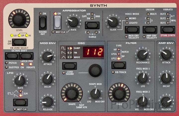 Синтезаторная секция Nord Stage 2 HA76