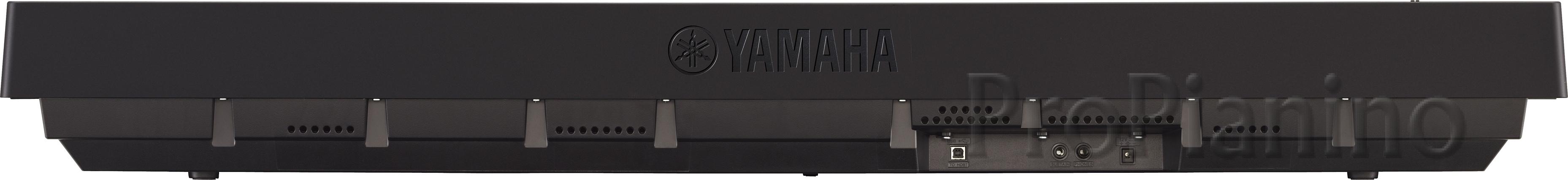 Задняя панель Yamaha P-45