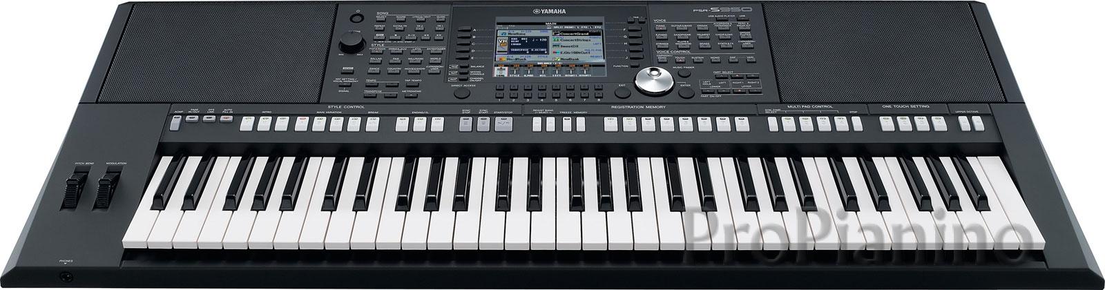 Профессиональный инструмент Yamaha PSR-S950