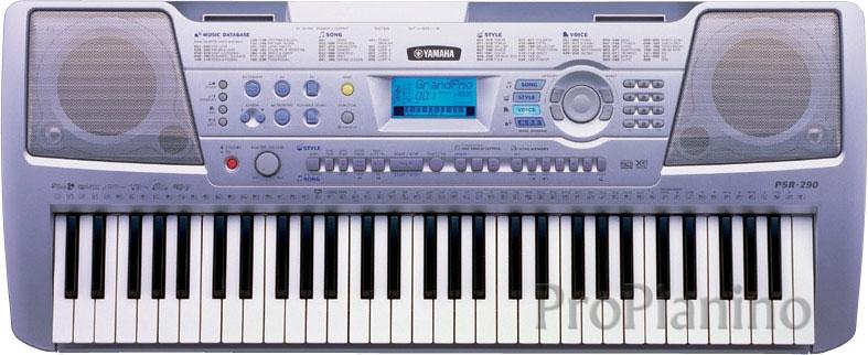 Многофункциональный Yamaha psr 290
