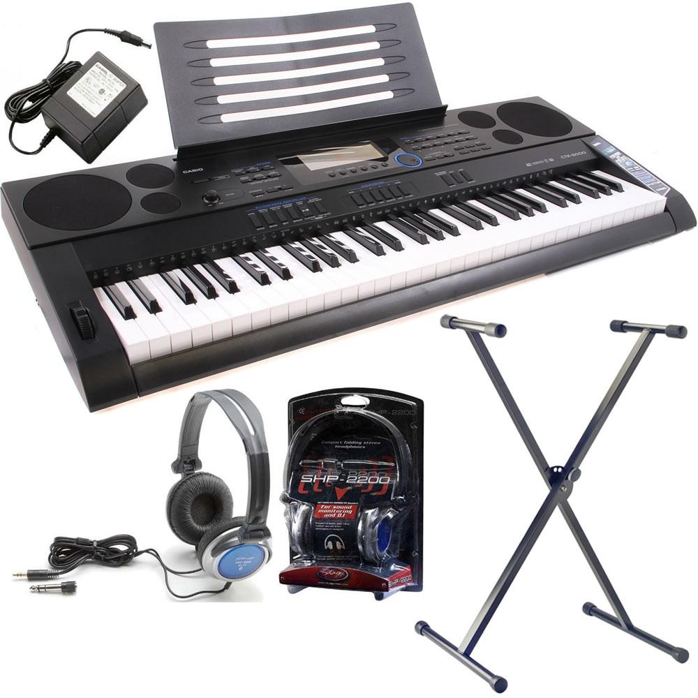Синтезатор Casio СТК-6000 и сопутствующие товары