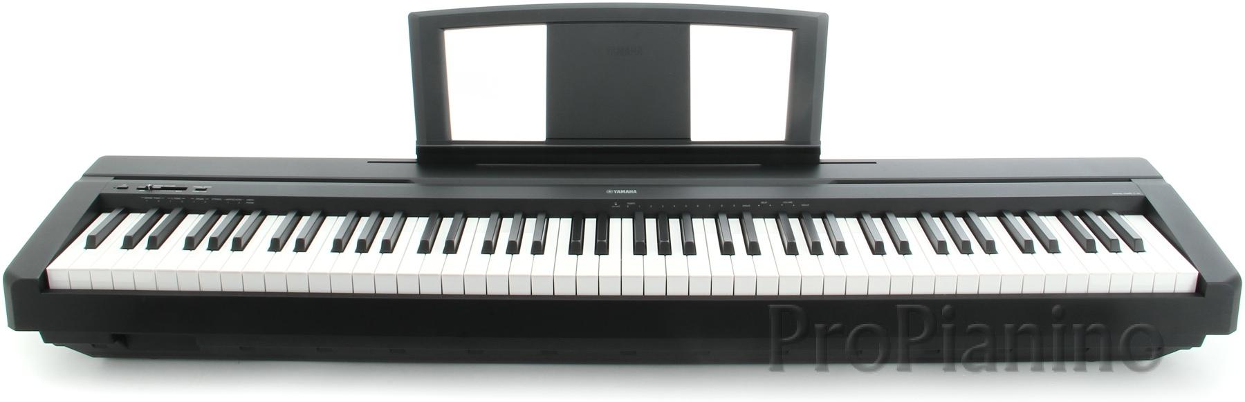 Цифровое пианино Yamaha P-35 с подставкой для нот