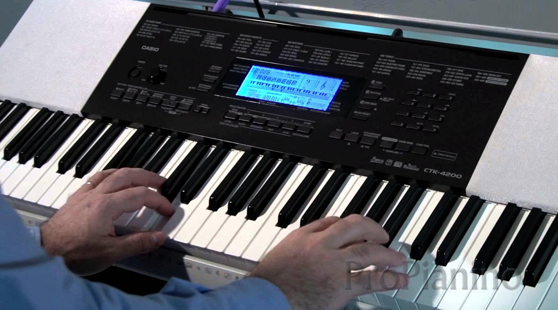 Casio CTK-4200 - синтезатор для обучения