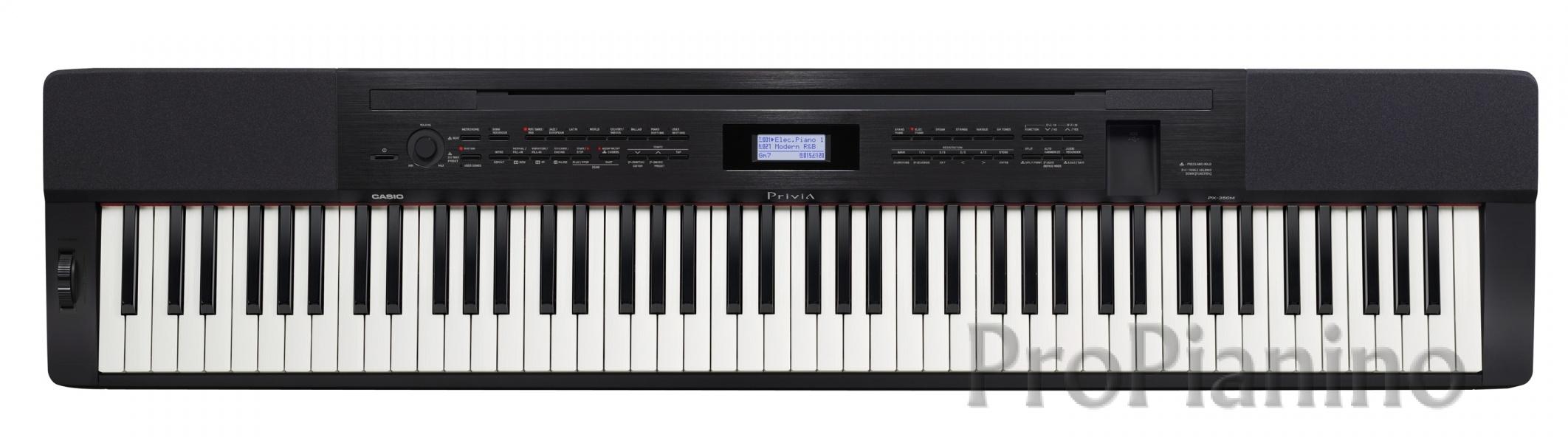 Casio PX-350 черного цвета