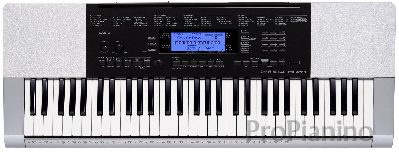 Casio CTK-4200 - синтезатор для домашнего обучения