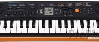 Casio SA-76 - лучший выбор для начинающих пианистов