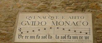 Мемориальная доска памяти Гвидо д'Ареццо