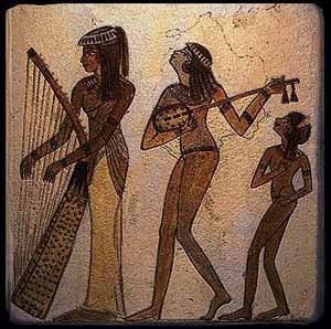 Музыка древних египтян